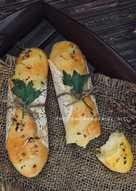 Mozarella stick bread
