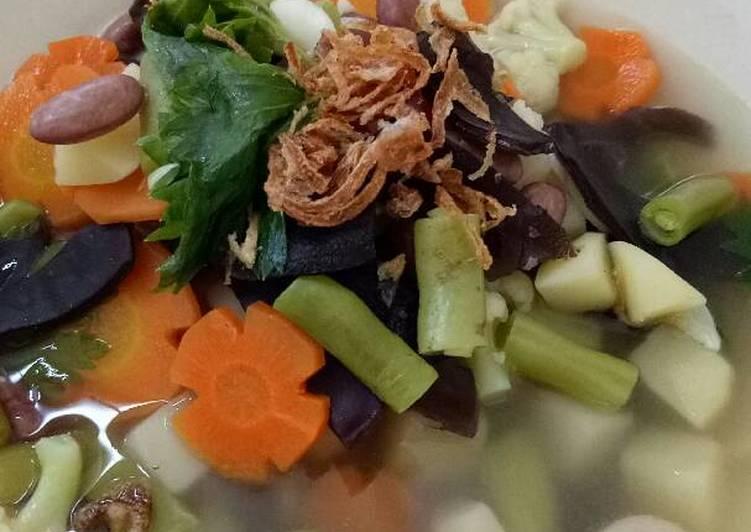 cara membuat Sup Sehat Lengkap Praktis
