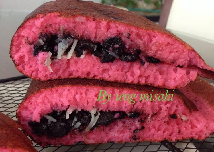 Resep Martabak velvet (rose red) Dari Ieng Misaki
