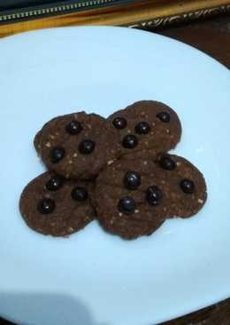 Crispy choconut cookies