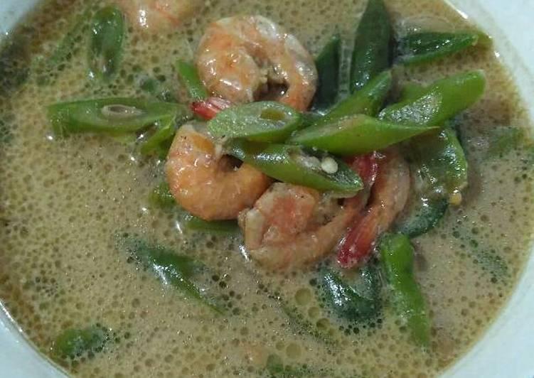 Resep Sayur tauco udang buncis simple gak pake lama,, :D By Wie Utamy