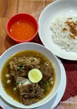 Sup konro Makassar