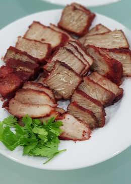 Charsiu (babi merah) simple -Slow cooker