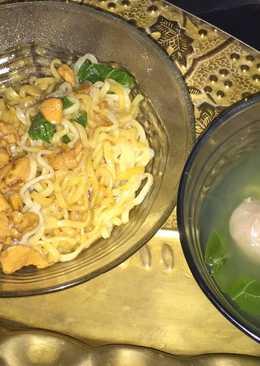 Mie Ayam Baso Enak dan simpel