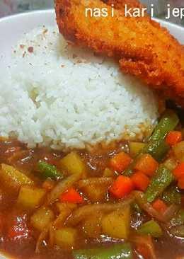Nasi Kari Jepang + Katsu Ayam Praktis
