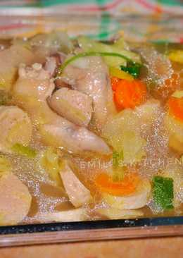 Sop Ayam & Bakso Microwave Super Praktis