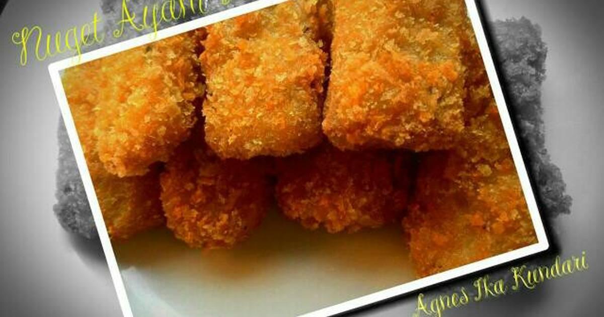 135 resep chicken nugget tanpa roti enak dan sederhana