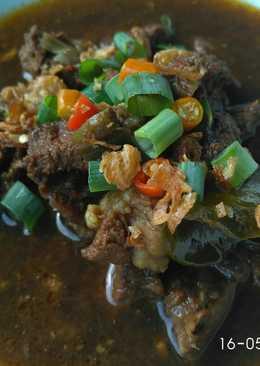 Rawon / Beef in Black Nut Soup #BikinRamadanBerkesan