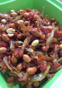 Sambal Teri kacang gurih (mickyal)