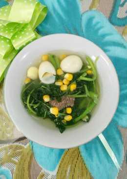 Image result for Sup Bayam Dua Telur