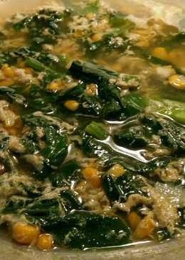 Sup sawi jagung