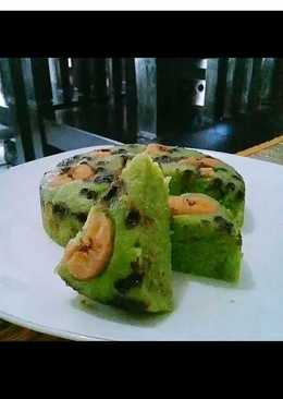 Cake pisang pandan kukus..legit👌👍 #magic com