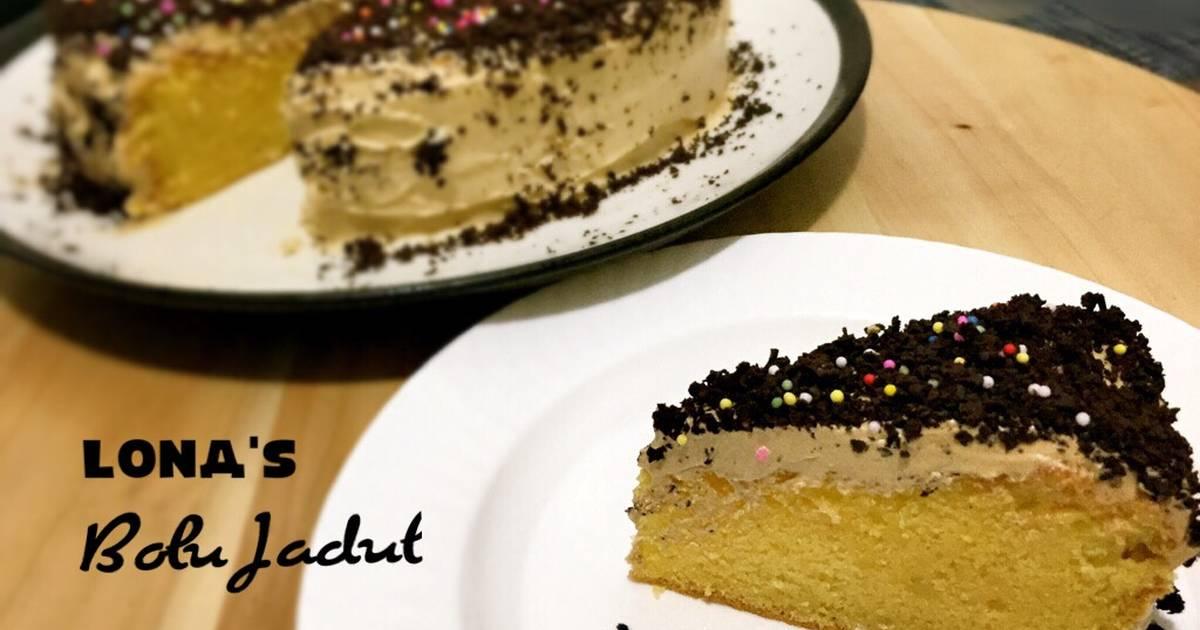 Resep Bolu Jadul pake mocca cream makin Jadul rasanya