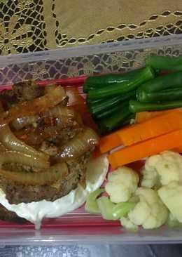 Beef Burger Curry #keto_cp_bento