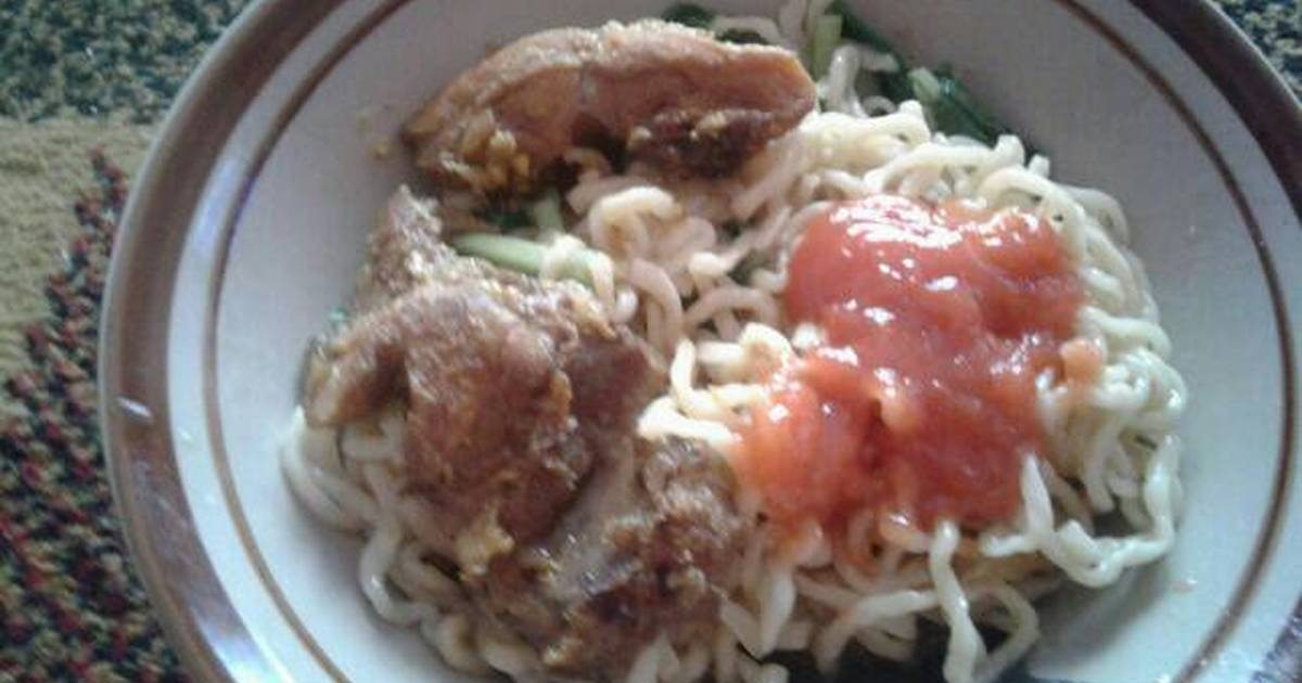 resep mie ayam ala rumahan oleh ade rachmawati   cookpad