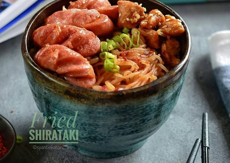 Fried Shirataki Keto #seninsemangat #day01 #bikinramadanberkesan
