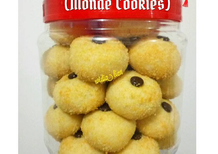 Resep Kue Janda Genit Monde Cookies Dari Widia Ningsih Liem Al Islams