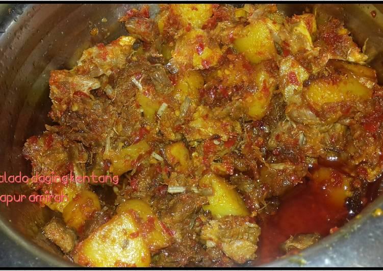 Balado daging kentang # BikinRamadhanBerkesan