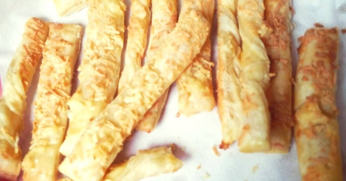 Resep Cheese Stick Pastry
