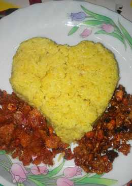 Nasi Kuning Gurihhhhhhh Magic Com