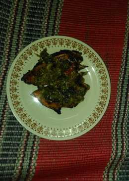 Ayam bakar fillet sambel ijo