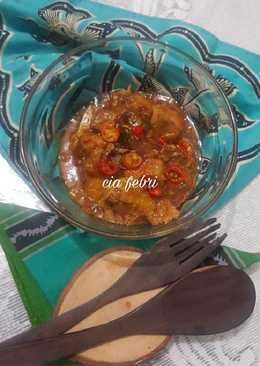 Ikan tenggiri saus szechuan ala fe'