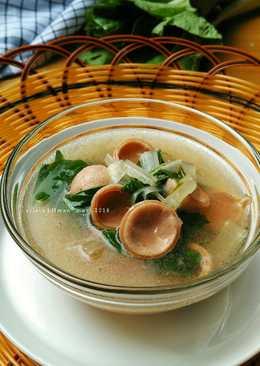 Sup Sawi Sosis