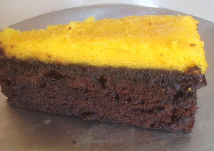 Resep Brownies kukus nutrisari coklat By Imaniar Nina