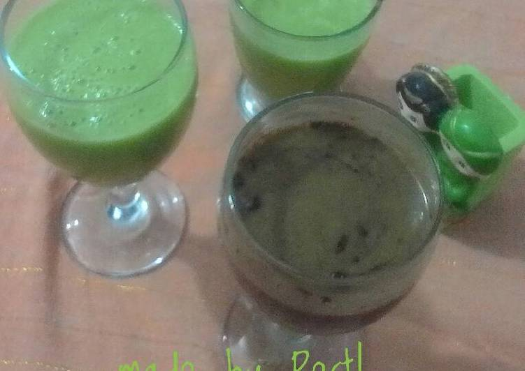 Resep Avocado Milk Juice?? Dari Restea