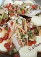 Tim Ikan Kerapu Dengan Biji Kici & Tofu (Steamed Grouper w/ Goji Berries & Egg Tofu)