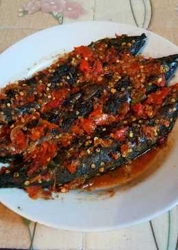 🐟🌶 Tongkol Bakar sambal Nalala Hot ala Dapur Fitri 🌶🐟