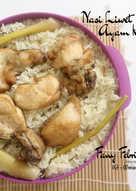 Nasi Liwet Ayam Kukus