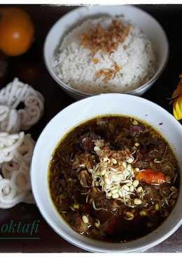 Rawon Daging Sapi khas Jawa Timur