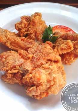 Ayam Goreng Tepung Krispi Tahan Lama (no ribet)