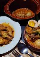 Gulai Nangka Ayam & Telur (Jackfruit with Chicken &Egg Curry)