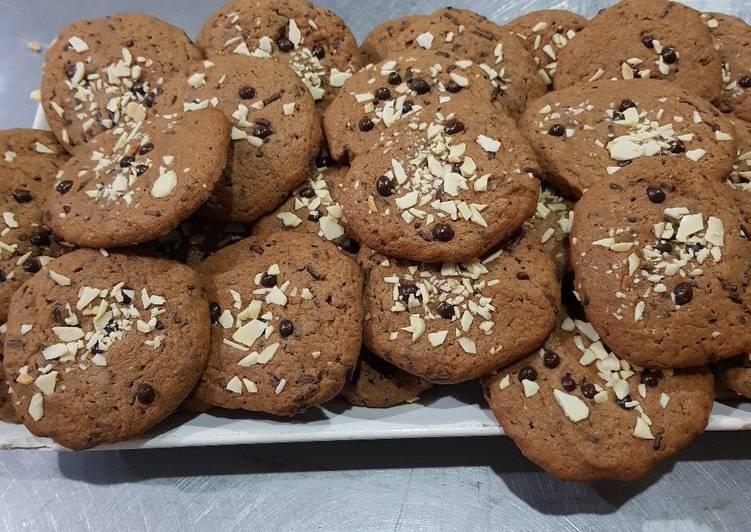 Cookies Coklat Almond