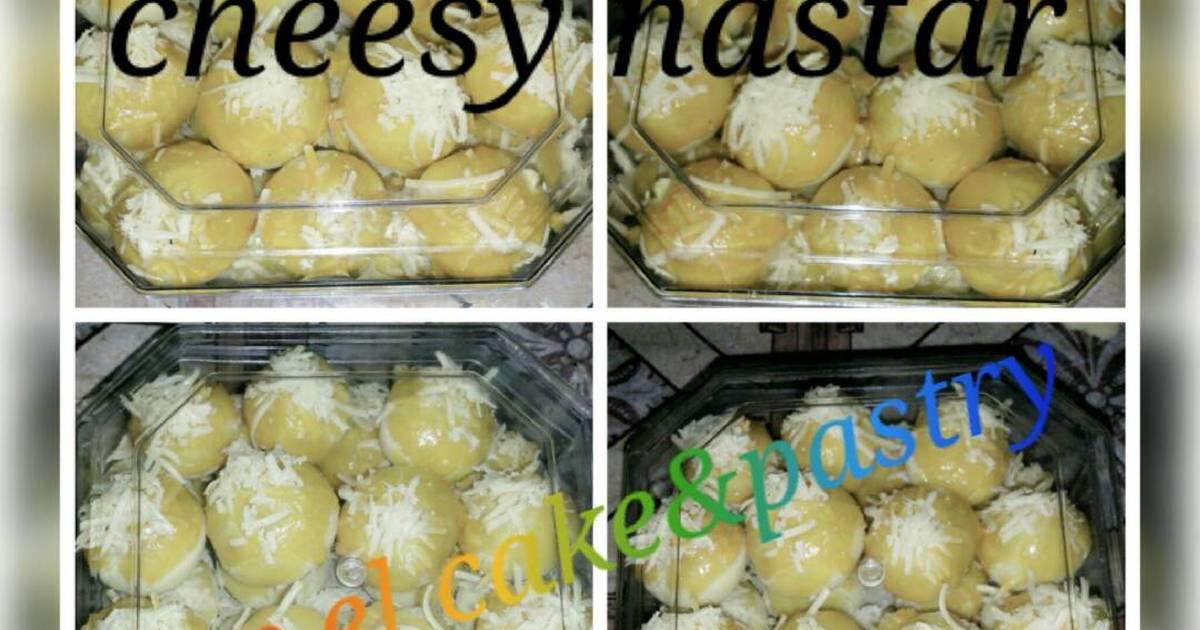 Resep NASTAR KEJU super lembut ISI SELAI MANGNAS (mangga nanas)