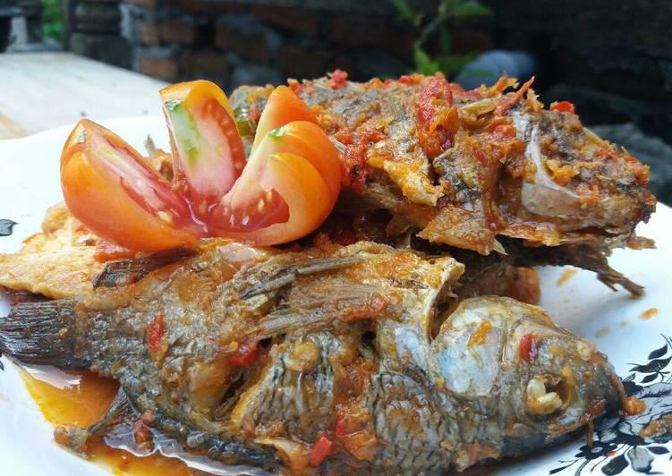 Ikan Mujair Bumbu Bali
