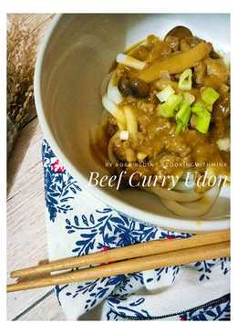 Day 26 Beef Curry Udon #SelasaBisa