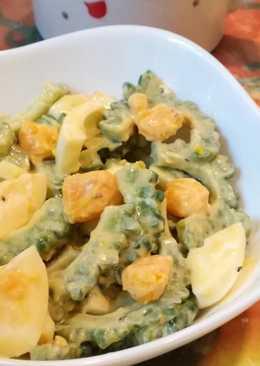 Salad Pare Telur saus Mayones