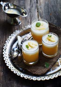 Silky Pineapple Pudding