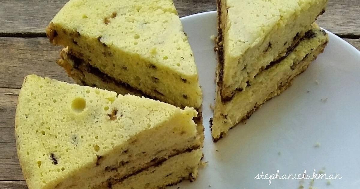 Resep Bolu Gak Pakai Ribet (3 bahan) / Bolu Teflon