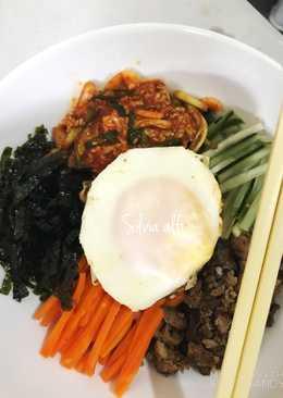 Bibimbab kimchi