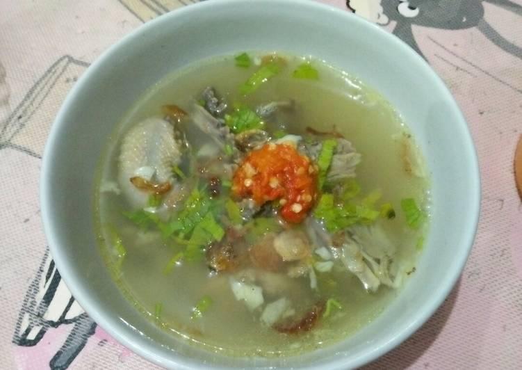 2. #Sop Ayam ala Pak Min Klaten#