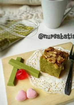 Green Tea Brownies