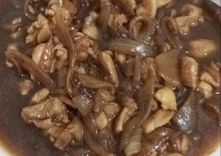 Resep Ayam teriyaki ala hokben oleh Resty Anggarini Cookpad