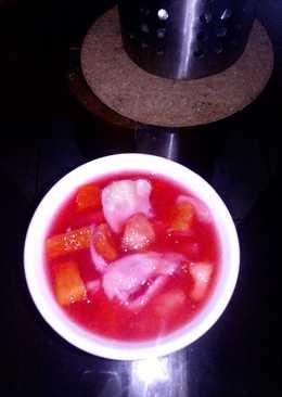 Es Buah merah#Bikin RamadhanBerkesan