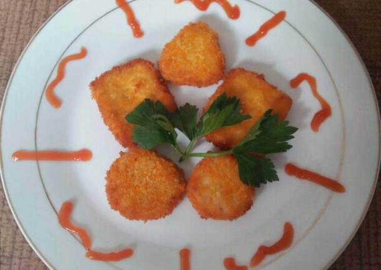 Resep Nugget Ayam Keju Wortel (step by step) Dari bunda dini