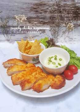 Crunchy Chicken Mayonnaise #pekaninspirasi