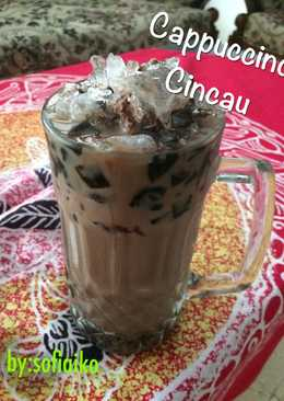Sajian Buka Puasa: Cappuccino Cincau
